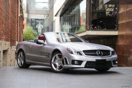 2008 Mercedes-Benz SL-Class R230 SL65 AMG Roadster 2dr Spts Auto 5sp 6.0TT [MY09]