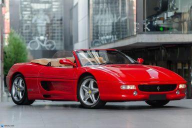 1999 Ferrari F355 Spider Convertible 2dr Man 6sp 3.5i