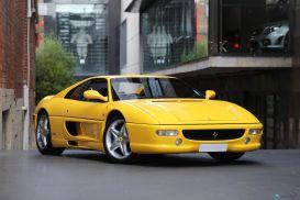 1997 Ferrari F355 Berlinetta Coupe 2dr Man 6sp 3.5i