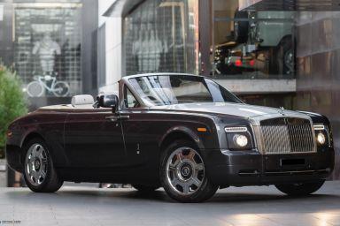 2011 Rolls-Royce Phantom 2D68 Drophead Convertible 2dr Auto 6sp 6.7i