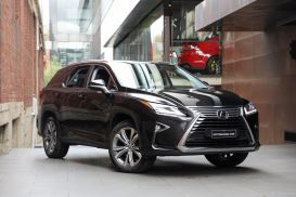 2018 Lexus RX GGL26R RX350L Luxury Wagon 7st 5dr Spts Auto 8sp, 4x4 3.5i