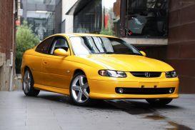 2002 Holden Monaro V2 CV8 Coupe 2dr Man 6sp 5.7i