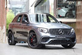2018 Mercedes-Benz GLC-Class X253 GLC63 AMG S Wagon 5dr SPEEDSHIFT MCT 9sp 4MATIC+ 4.0TT