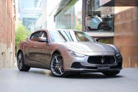 2014 Maserati Ghibli M157 S Sedan 4dr Spts Auto 8sp 3.0TT [MY14]