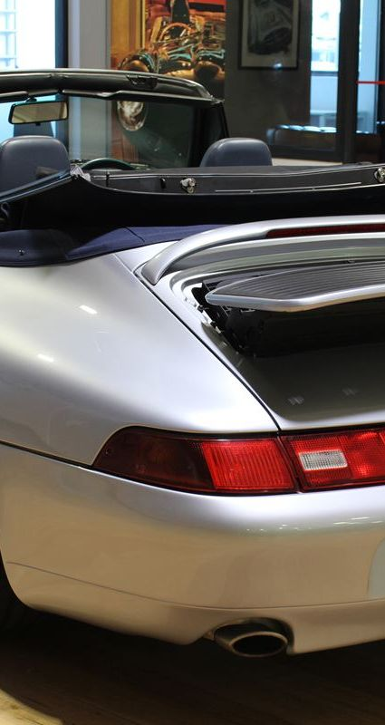 1995 Porsche 993 Carrera 4 Cabriolet - Silver RESIZED