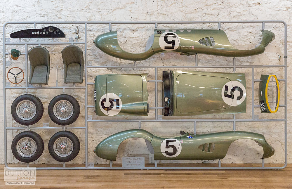 Dutton Garage Aston Martin Wall