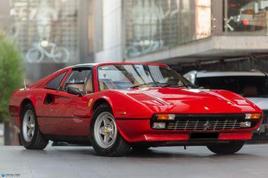 1984 Ferrari 308 GT GTSi Targa 2dr Man 5sp 3.0i