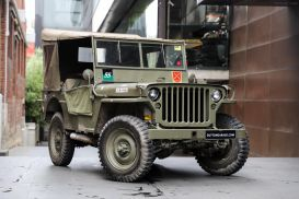 Jeep Willys WWII Army Vehicle