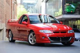 2001 Holden Special Vehicles Maloo VU Utility Extended Cab 2dr Auto 4sp 356kg 5.7i