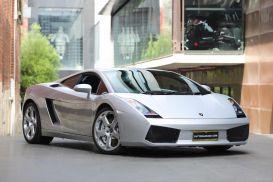 2006 Lamborghini Gallardo L140 Coupe 2dr E-Gear 6sp AWD 5.0i [MY06]