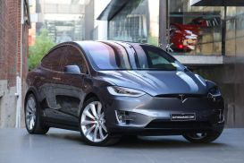 2017 Tesla Model X P100D Wagon 5dr Reduction Gear 1sp AWD AC375kW