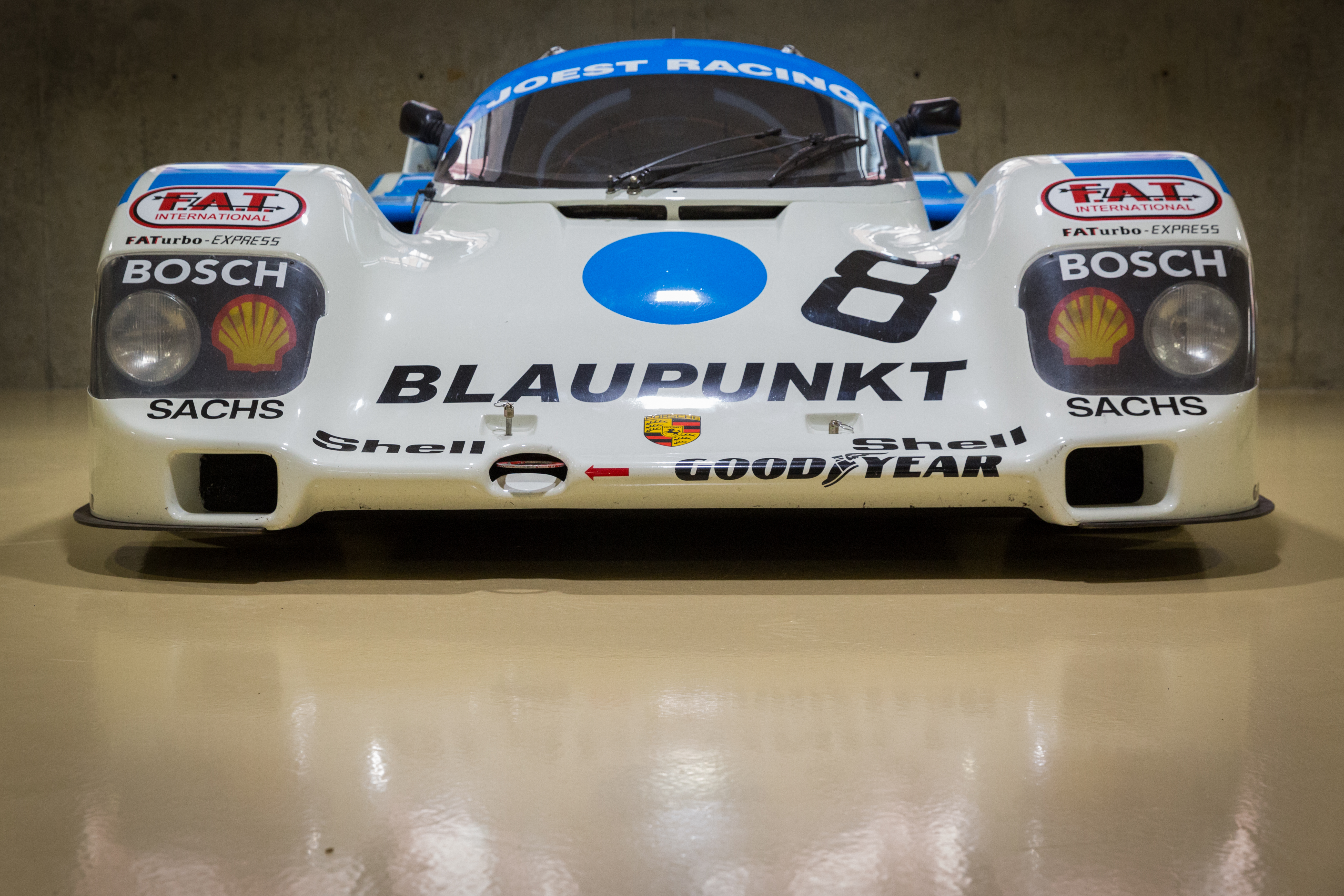 Porsche 962 race car