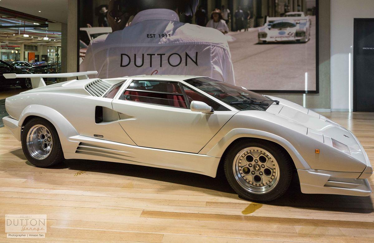1988 Lamborghini Countach '25' ANNIVERSARY (carburetor)- for sale in Australia