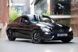 2018 Mercedes-Benz C-Class C205 C43 AMG Coupe 2dr 9G-TRONIC 9sp 4MATIC 3.0TT