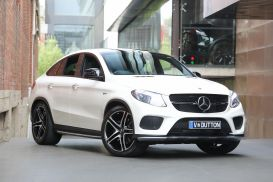 2018 Mercedes-Benz GLE-Class C292 GLE43 AMG Coupe 5dr 9G-TRONIC 9sp 4MATIC 3.0TT [Jan]