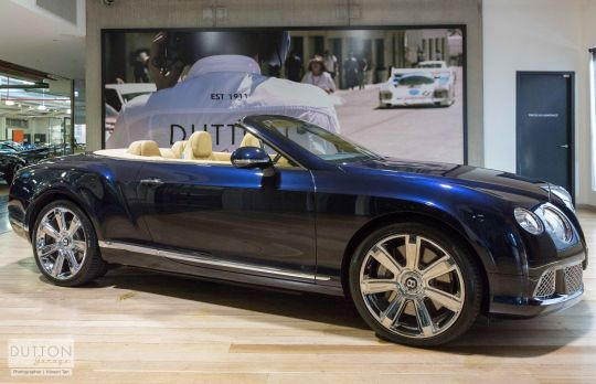 2012 BENTLEY CONTINENTAL 3W MY13 GTC- for sale in Australia