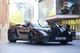 2011 Lamborghini Gallardo L140 LP560-4 Spyder 2dr E-Gear 6sp AWD 5.2i