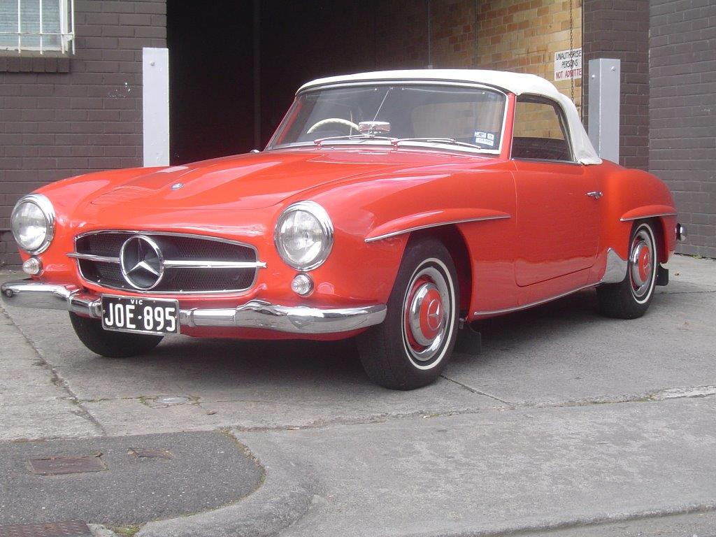 1961 Mercedes Benz 190SL- Sold in Australia