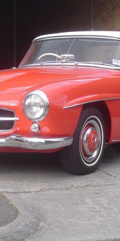 1961 Mercedes Benz 190SL- Sold in Australia