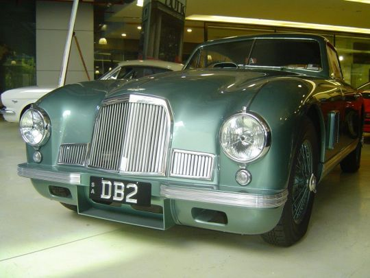 1951 Aston Martin DB2- sold in Australia