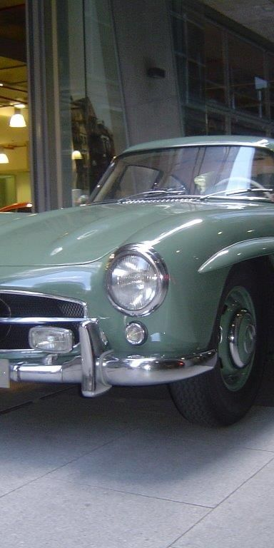 1955 Mercedes Benz 300SL Gullwing- sold in Australia