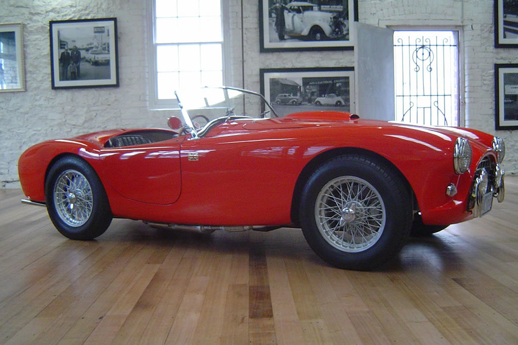 1956 AC Bristol- sold in Australia