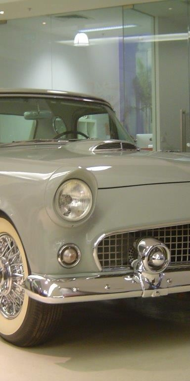 1956 Ford Thunderbird Continental- sold in Australia