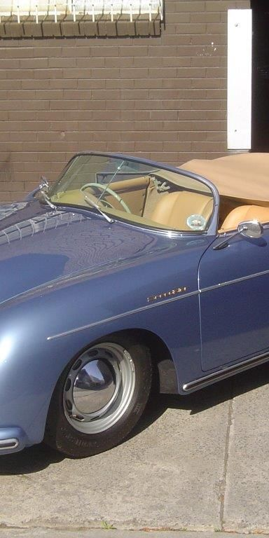 1958 Porsche 356 A Speedster- sold in Australia