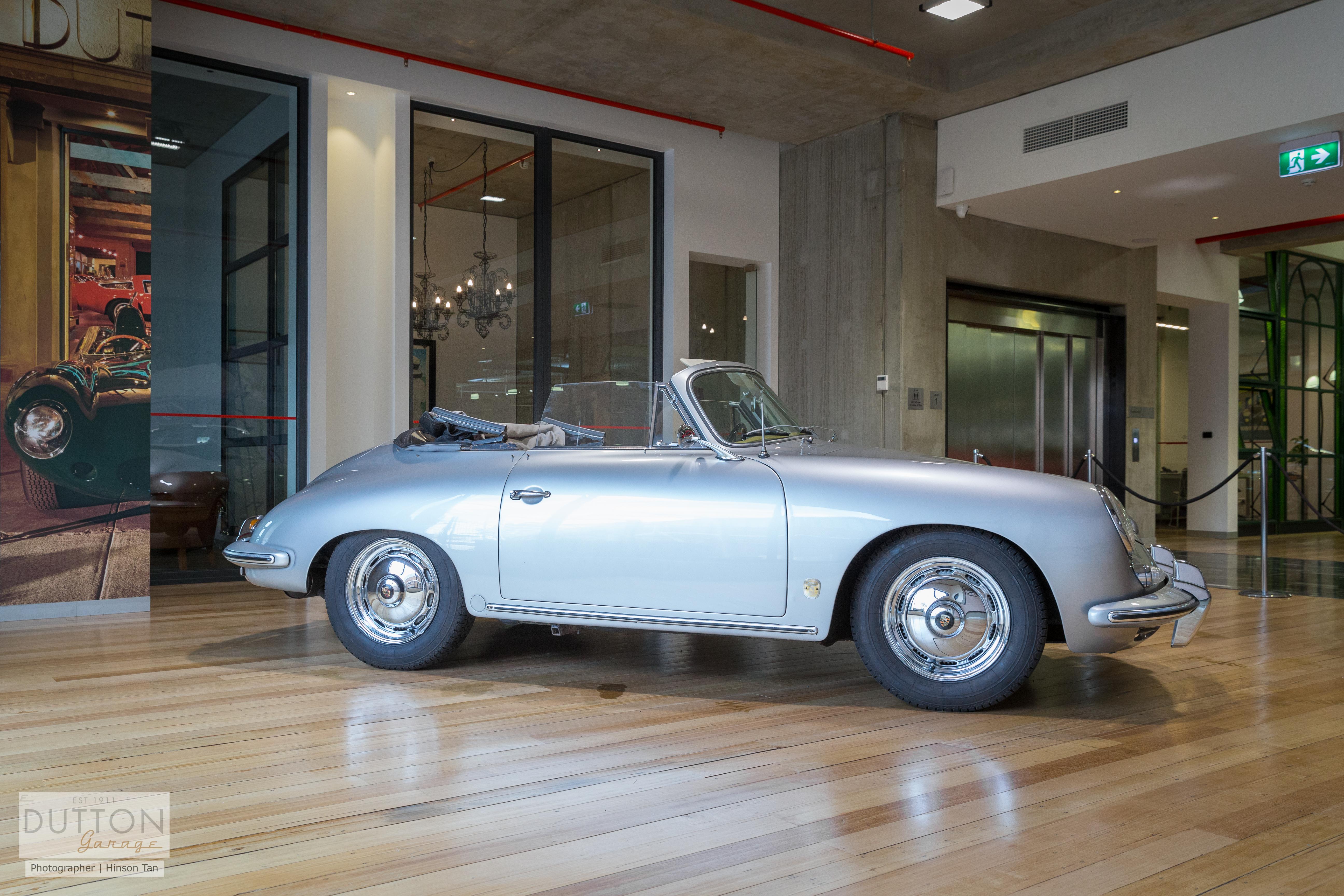 1960 Porsche 356 B T5 CABRIOLET- sold in Australia