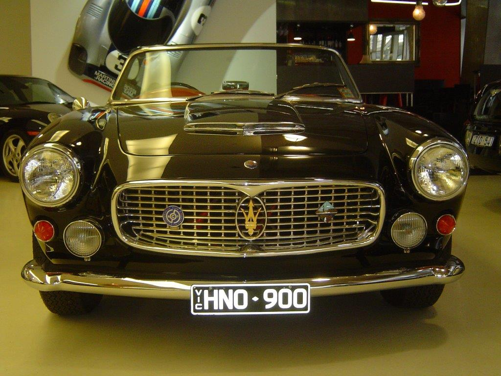 1963 Maserati 3500 GT Vingale Spyder- sold in Australia