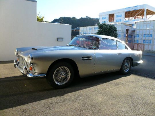 1964 Aston Martin DB4 Series 5 SS- sold in Australia