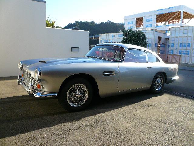 1964 Aston Martin DB4 Series 5 SS- sold in Australia