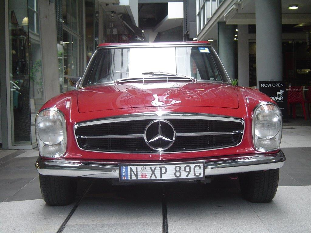 1966 Mercedes 230SL- sold in Australia