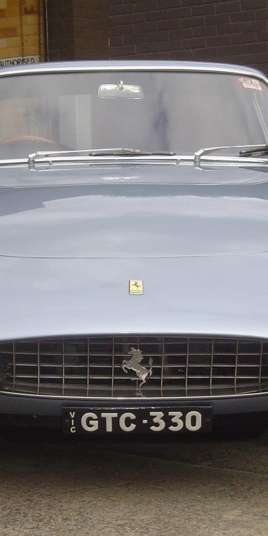 1967 Ferrari 330 GTC- sold in Australia