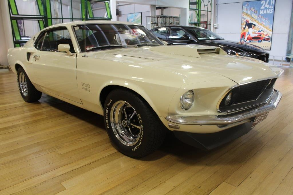 1969 ford mustang boss 429 sold in australia