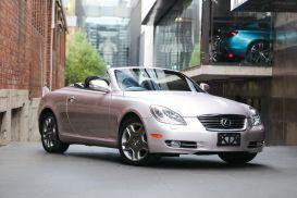 2008 Lexus SC UZZ40R SC430 Convertible 2dr Spts Auto 6sp, 4.3i [MY07]