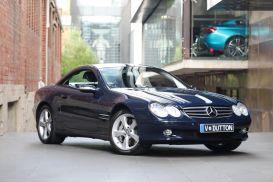 2003 Mercedes-Benz SL-Class R230 SL600 Roadster 2dr Spts Auto 5sp 5.5TT