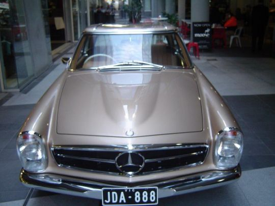 1970 Mercedes Benz 280 SL- sold in Australia