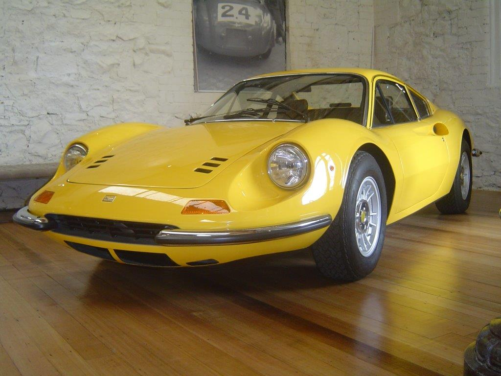 1971 Ferrari 246GT 'Dino'- sold in Australia