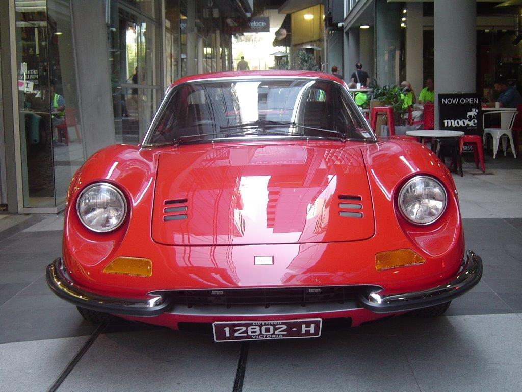 1971 Ferrari Dino 246 GT-sold in Australia