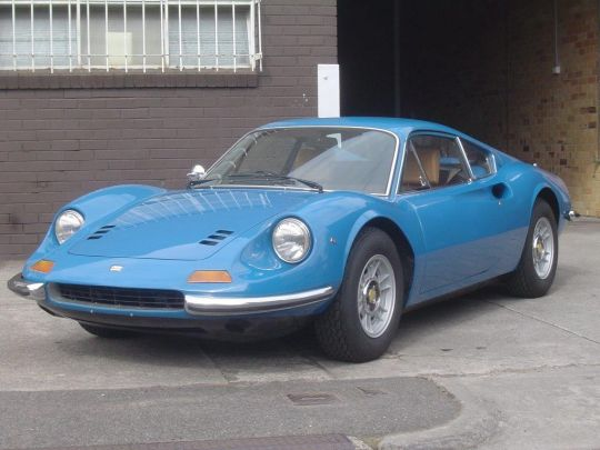 1972 Ferrari-Dino 246 GT- sold in Australia