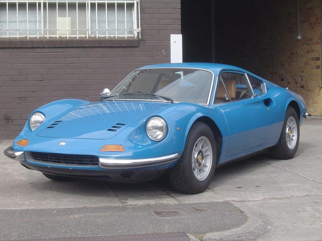 1972 Ferrari-Dino 246 GT- sold in Australia