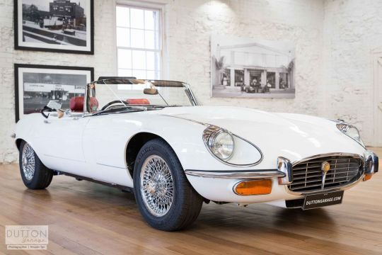 1972 Jaguar E-Type Series III - V12- sold in Australia