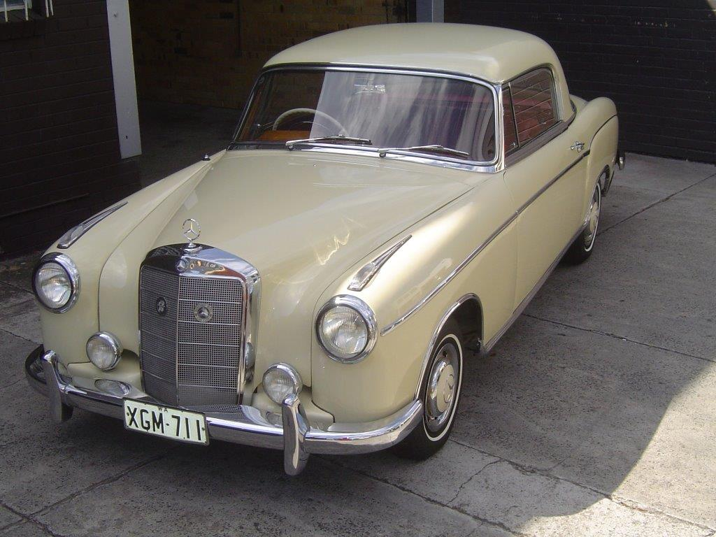 1972 Mercedes Benz 190 Coupe- sold in Australia