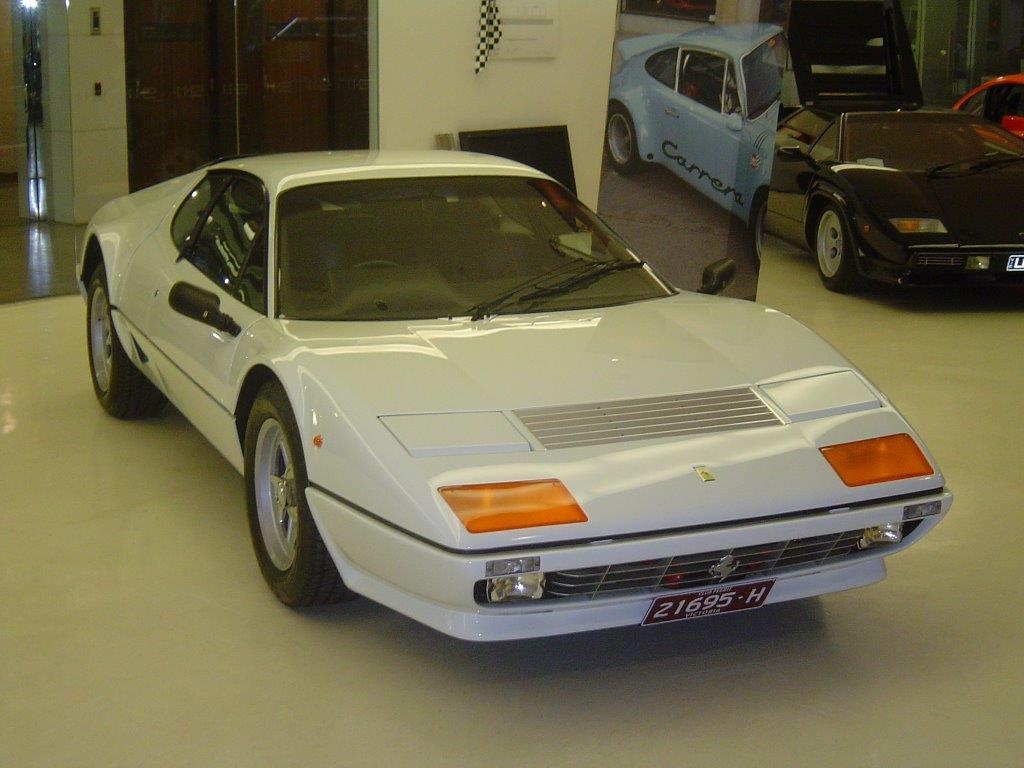 1983 Ferrari 512 BBi- sold in Australia