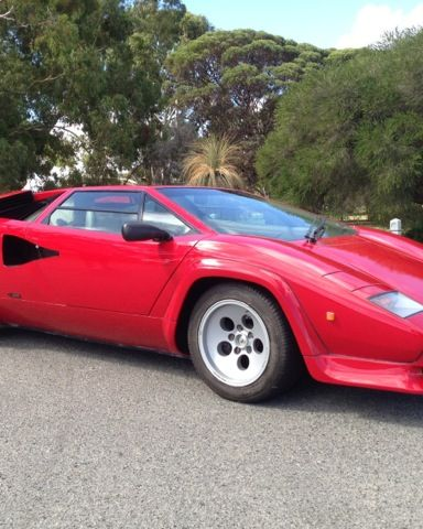 1985 Lamborghini Countach 5000 QV- sold in Australia