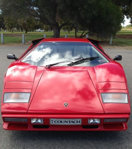 1985 Lamborghini Countach 5000 QV- sold in Australia