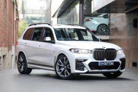 2020 BMW X7 G07 M50i Wagon 7st 5dr Steptronic 8sp 4x4 4.4TT [Aug]