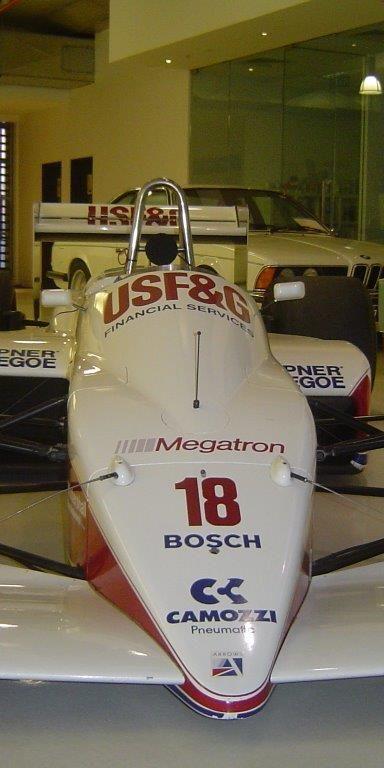 1988 F1 Arrows - Megatron (Driver Eddie Cheever)- sold in Australia