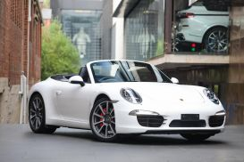 2012 Porsche 911 991 Carrera S Cabriolet 2dr PDK 7sp 3.8i [Mar]